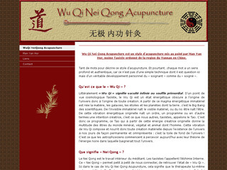 Acupuncture traditionnelle chinoise - Wuqi-neiqong-acupuncture.com