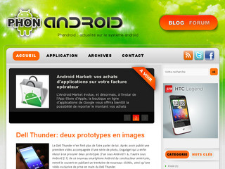 Phone Android : votre blog sur Android - Phonandroid.com