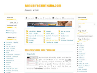 Annuaire Fabriksite