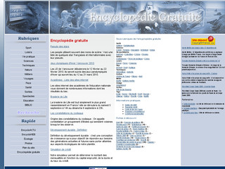 Encyclopedie Gratuite sur encyclopedie-gratuite.fr