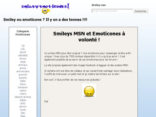 Smiley Emoticones sur Smiley-emoticones.com