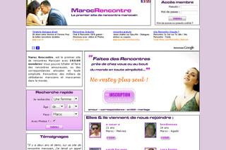 Sites de rencontre maroc gratuit