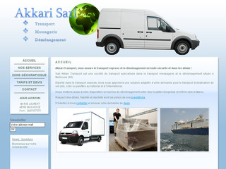 Akkari transport : Transport express, déménagement, national, international, Mulhouse 68