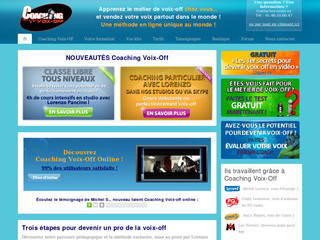 Formation doublage voix - Coaching-voix-off.com