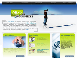 Agence web, SEO et webmarketing - Clickandbusiness-ltd.com