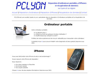 Pclyon.net - Réparation d'ordinateurs portables et d'iPhones