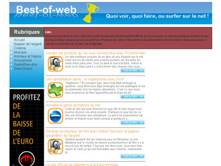 Best of web - Le must du net - Best-of-web.fr