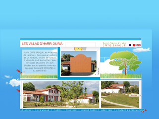 Location maison Pays Basque - Villas-dharri-xuria.com