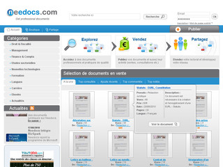 Needocs : documents et ebooks professionnels
