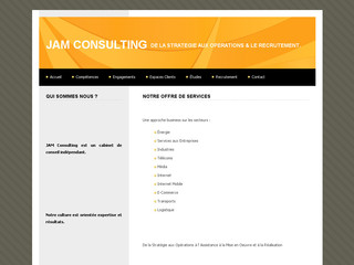 Jam Consulting - Cabinet de Recrutement - Jamconsulting.fr.nf