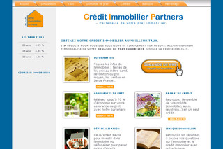 Creditimmobilierpartners.fr : Crédit immobilier
