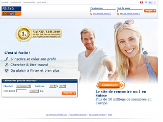 Friendscout 24 site de rencontre - Friendscout24.ch