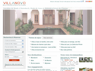 Location villa luxe Marrakech - Villanovo.fr