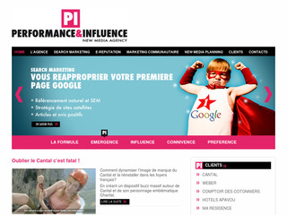 Pi-agency.fr - Performance et influence