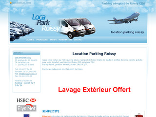 Parking aéroport Roissy - Locaparkroissy.fr
