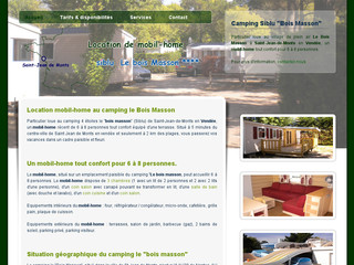 Location de camping en Vendée - Mobil-home-vendee.com