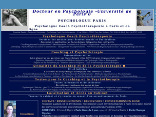 Psychologue Paris - Francoise Zannier psychologue - Psychologue- -paris.fr