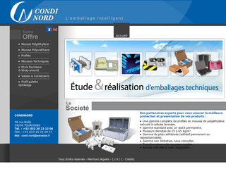 Condi-nord.com - Emballage industriel