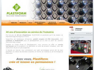 Thermoformage technique et conditionnement plastique - Plastiform-france.com