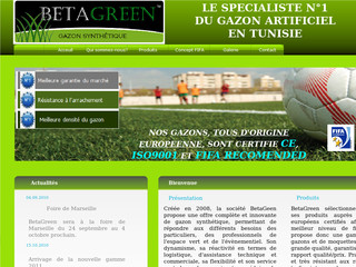 BetaGreen : gazon artificiel - Beta-green.com