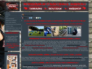 Normandie Paintball (76) : Vente, Location, Terrains, Club, Webshop - Normandie-paintball.fr