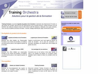 Gestion formation : Les solutions Training Orchestra - Training-orchestra.com