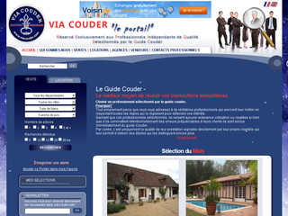 Viacouder.com - Portail immobilier Viacouder