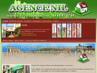 Agence Nil - Agence immobilière Narbonne - Agencenil.fr