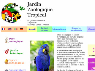 Conservatoire Biologique Tropical - Zootropical.com
