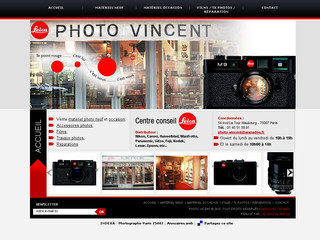 Photo Vincent - Studio photo à Paris 7ème