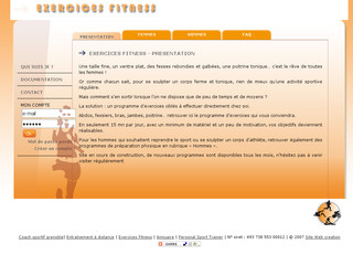 Exercices de Fitness avec Exercices-fitness.com