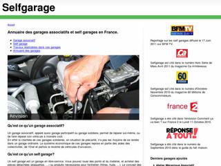 Garages o les clients font eux m mes les for Self garage strasbourg