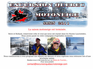 Excursion au Quebec en motoneige - Excursionquebecmotoneige .com