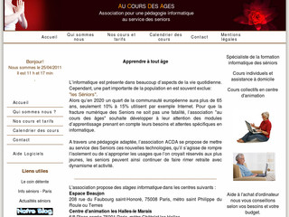 Formation informatique des seniors - Aucoursdesages.fr