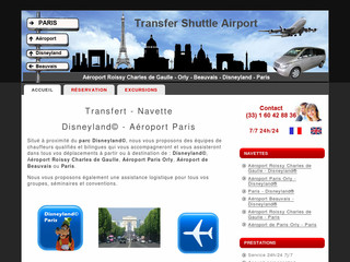 Transfert Aéroport de Paris avec Transfer-shuttle-airport.com