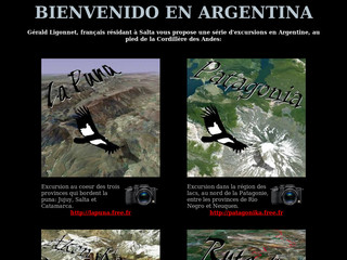 Excursion en Argentine - Bellargentina.free.fr