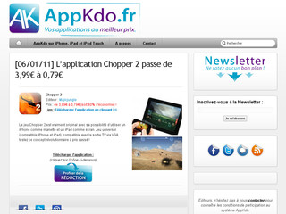 Appkdo - Applications iphone et ipad d'Apple