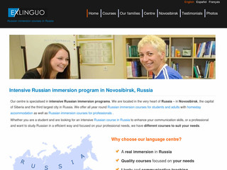 Séjour linguistique en Russie - Russianinsiberia.com