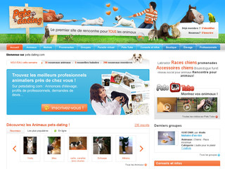 Pets-dating.com : 1er meetic pour animaux