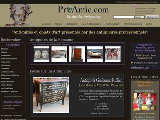 Proantic Com Antiquaire Objets D Art Tableaux Anciens