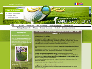 Golf Green City - Golf en gazon synthétique - Golf-green-city.com