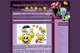 Emoticones-gratos.fr : Smileys gratuits pour msn Windows live messenger