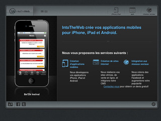 IntoTheWeb.be - Développement d'applications iPhone, iPad et Android