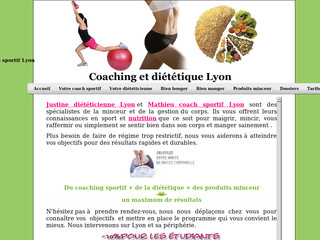 Coach sportif à Lyon - Coaching-dietetique-lyon.fr