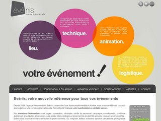 Agence Evenis : Animations Evenementielles - Evenis.fr