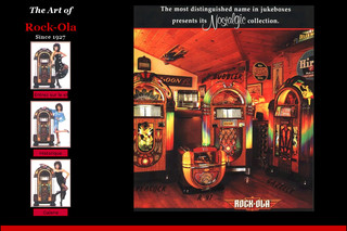 Rockola : jukeboxes de collection