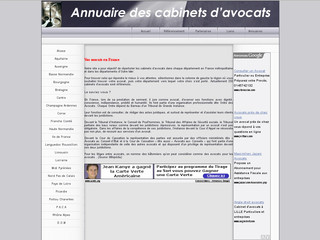 Annuaire des cabinets d'avocats - Cabinets-avocats.net
