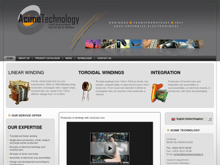 Fabrication bobinage par Acime Technology - Acimetechnology.fr