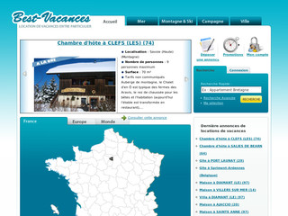 Location de vacances - Best-vacances.net