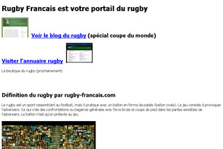 Rugby-francais.com : annuaire rugby